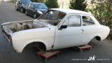 Karosserie vor der Präparation bei der KW automotive GmbH