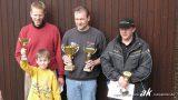 Die Sieger des MSC Automobilslalom Solitude vom 20.03.2005 - v. l. n. r. Alfred Hein, Andreas Kokor, Frank Most
